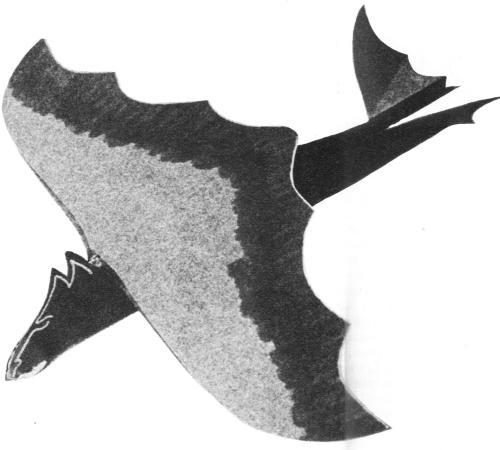 Michaël vliegende draak