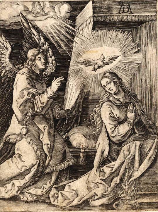 kerst Dürer Verkondiging