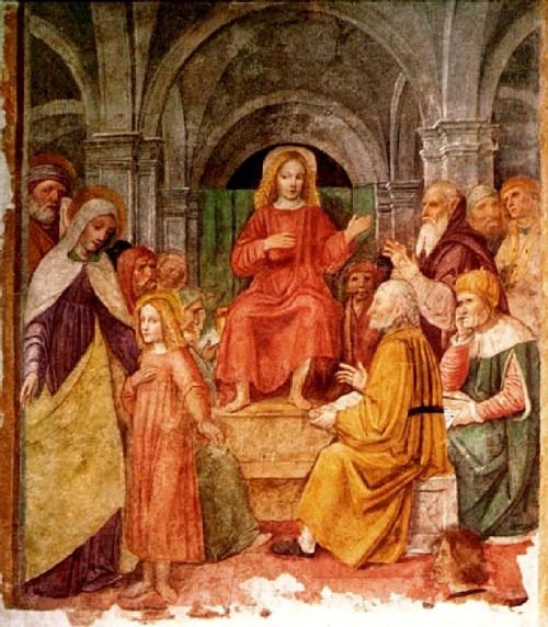 Borgognone 2 Jezuskinderen