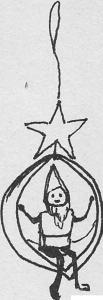 kerstboomversiering walnoot 2