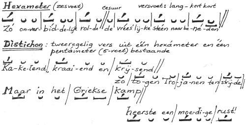 klas 5 taal hexameter