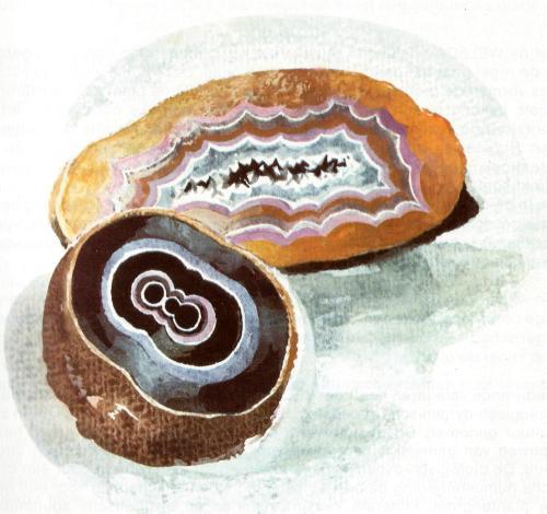 mineralogie agaat