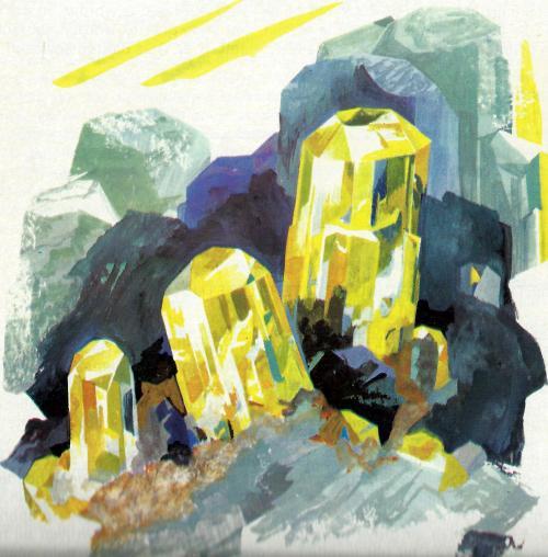 mineralogie apatit