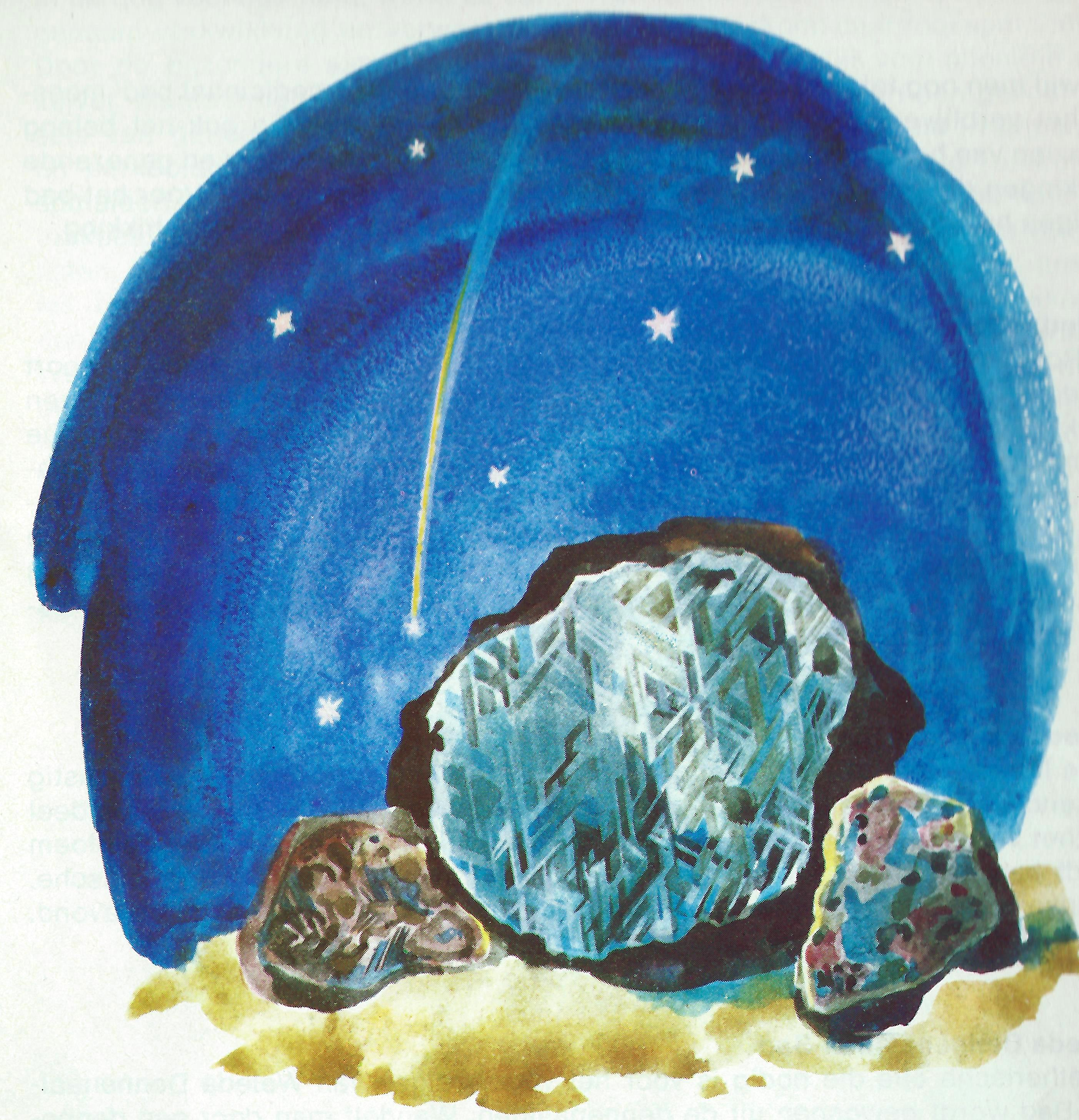 mineralogie meteoorijzer