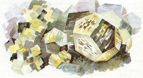 mineralogie pyriet