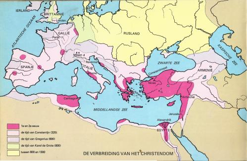 6e klas Rome Christendom