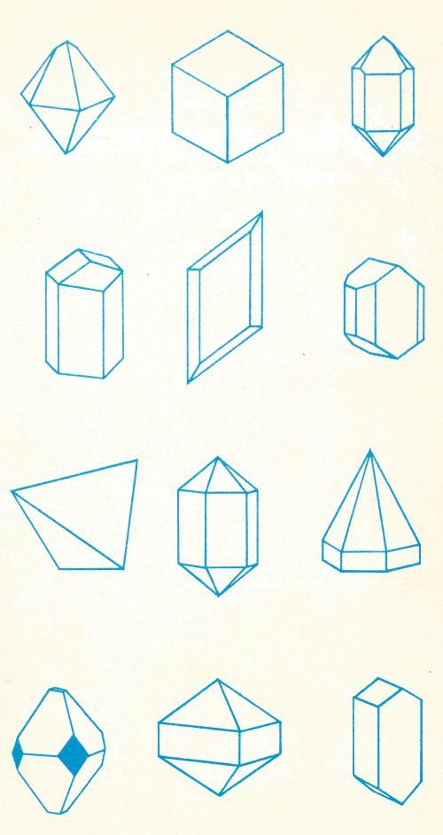 mineraalvormen