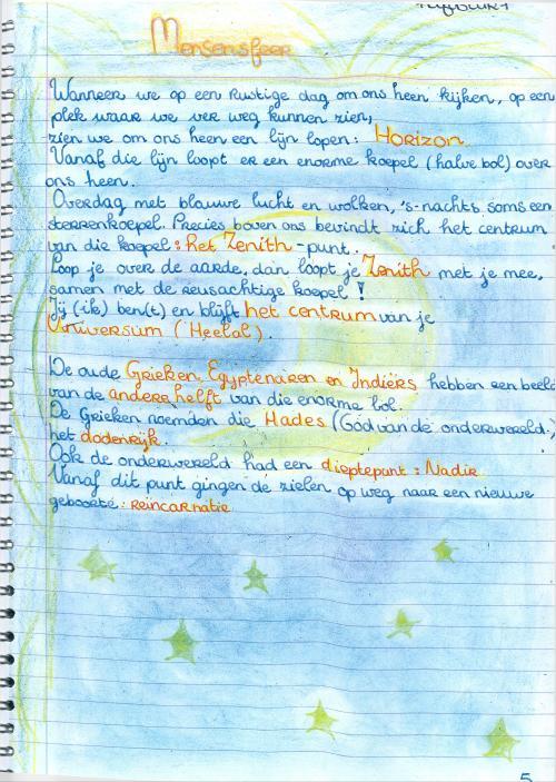 sterrenkundeperiode klas 7  6