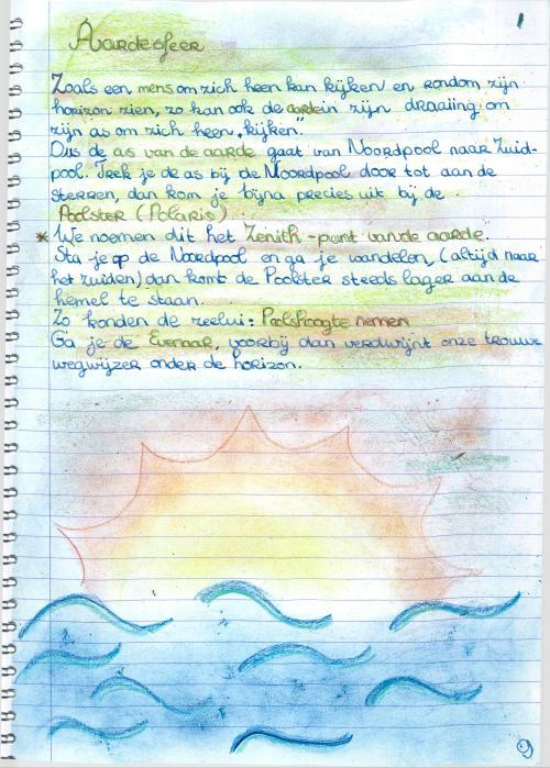 sterrenkundeperiode klas 7  9