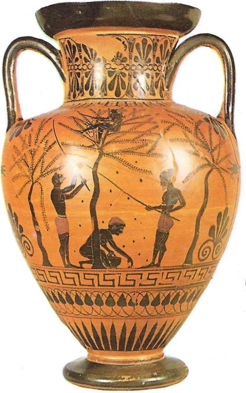 6e klas Griekse vaas