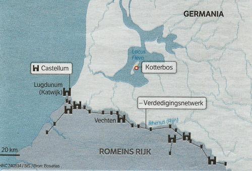 6e klas Romeinen in Nederland 1