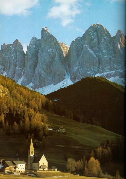 berglandschap Dolomiten